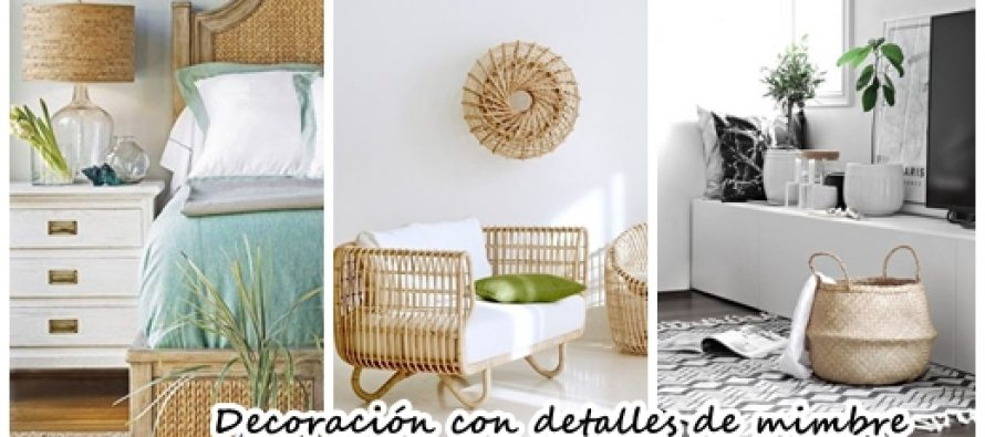 Decoraci n de interiores con mimbre para un estilo r stico for Programa para decoracion de interiores
