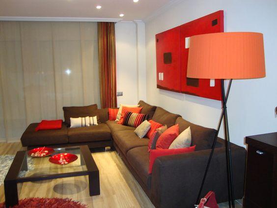 Decoracion interiores rojo cafe 10 decoracion de for Decoracion casa rojo