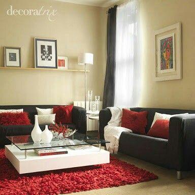 Decoracion interiores rojo cafe 26 decoracion de - Decoracion de interiores barato ...