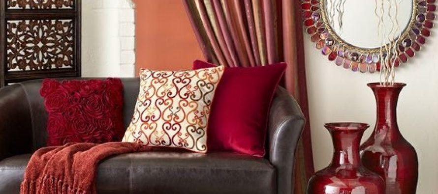 Decoraci N De Interiores Rojo Y Caf Curso De