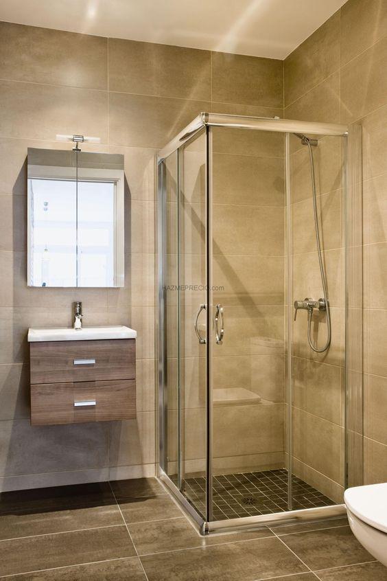 Como decorar un ba o de casa de infonavit decoracion de - Estantes para interior ducha ...