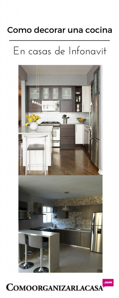 Como decorar una cocina de infonavit decoracion de interiores fachadas para casas como - Como decorar una cocina ...