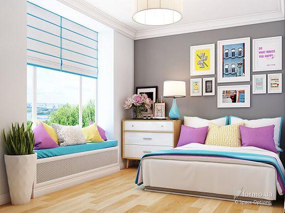 Decorar una habitacion pequena 9 decoracion de - Como disenar una habitacion pequena ...