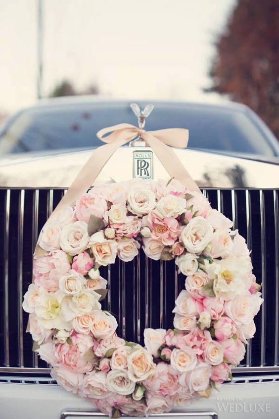 Ideas decorar los coches boda xv anos 11 decoracion de for Adornos navidenos para xv anos