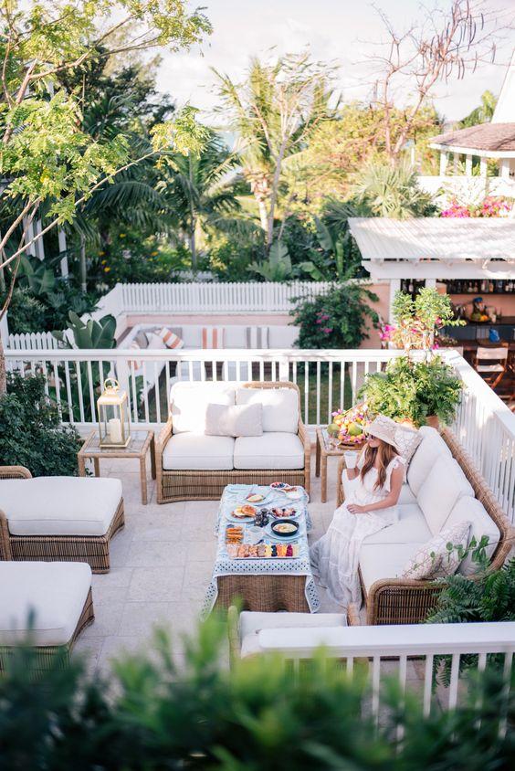 Ideas de dise o para terrazas modernas como organizar la casa fachadas decoracion de - Diseno de terraza ...