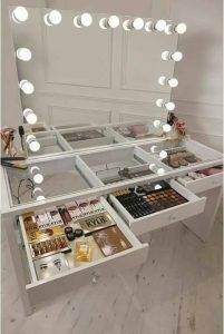 Increibles ideas para organizar tu maquillaje