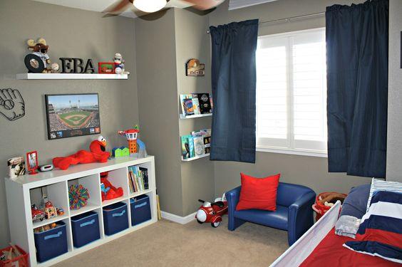 Lindas ideas decorar la habitacion nino 35 decoracion - Decorar habitacion ninos ...