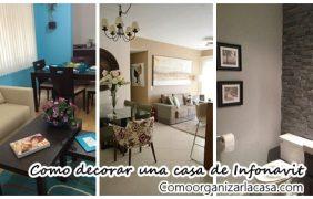 Como decorar una casa pequeña de infonavit