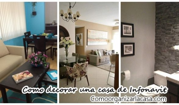 Mira como decorar una casa de infonavit peque a for Estilos para decorar tu casa