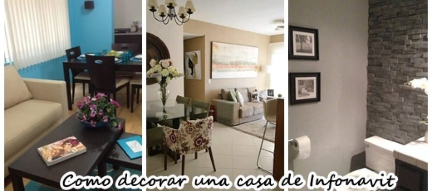 Mira como decorar una casa de infonavit peque a curso de for Como decorar interiores de casas pequenas