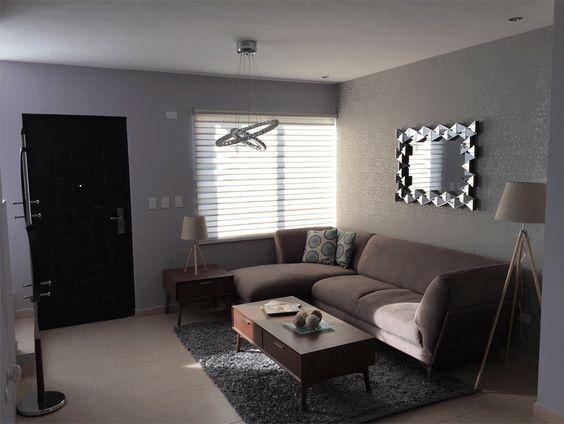 Mira decorar una casa infonavit pequena 4 como for Decorar sala comedor casa pequena