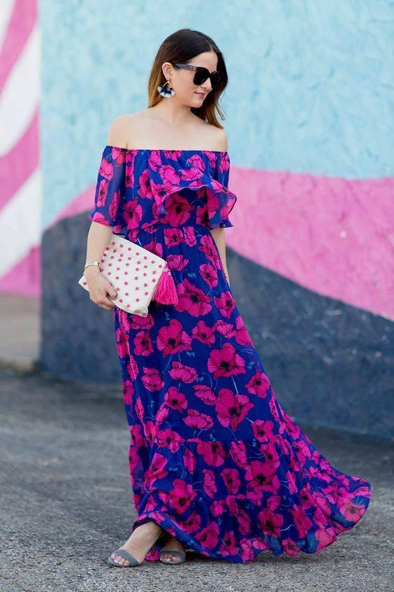 Vestidos en diferentes estilos para usar en primavera - verano