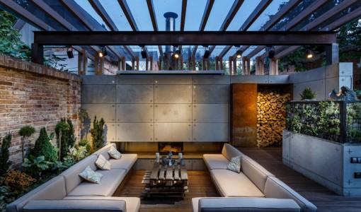 27 fotos terrazas casas modernas 10 decoracion de for Comedores exteriores para terrazas