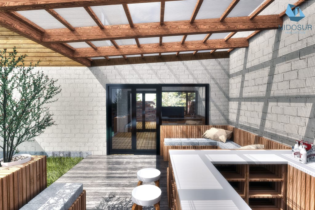 27 fotos terrazas casas modernas 16 decoracion de for Modelo de casa con terraza