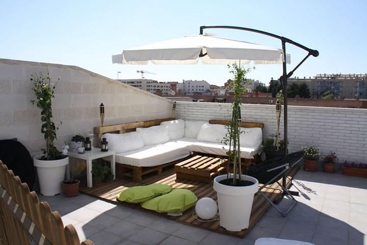 27 fotos terrazas casas modernas 25 decoracion de for Terrazas para departamentos