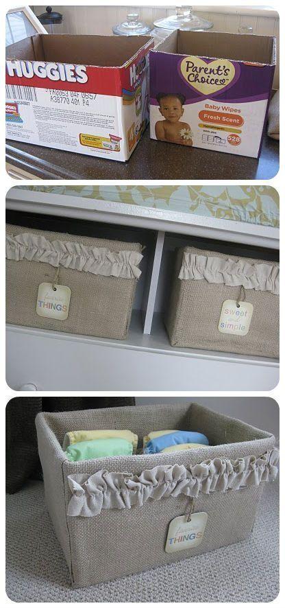 27 ideas DIY para reciclar tus cajas de carton