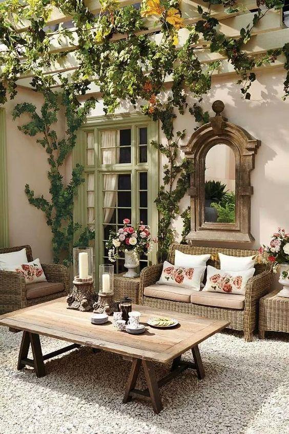 28 Propuestas Muebles Decorar Terraza Jardin 20 Como