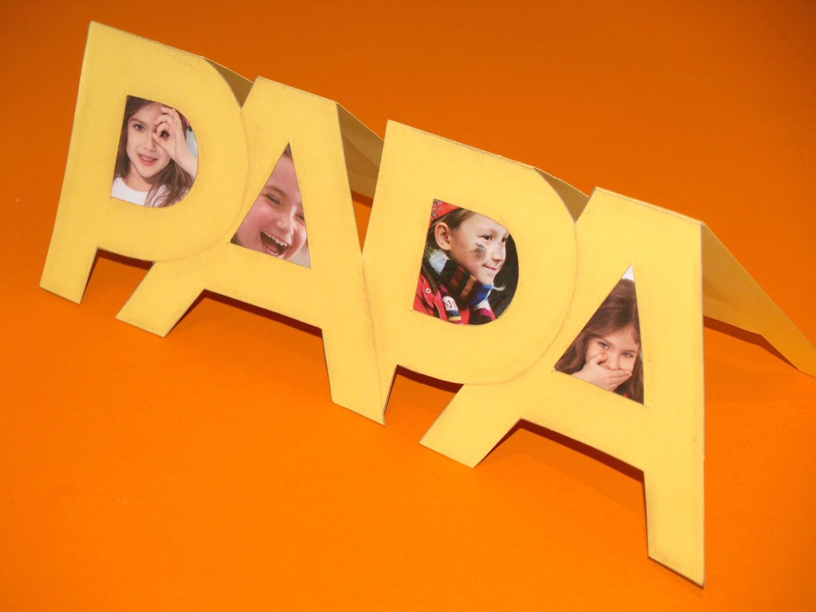 8 ideas de portaretratos para el dia del padre