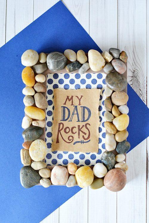 ideas de portarretratos para el día del padre