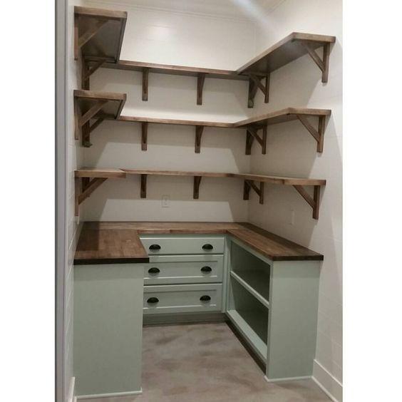Alacenas funcionales y ahorradoras de espacio decoracion for Cost to build a pantry