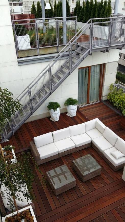 balcones modernos casas 1 como organizar la casa On ideas de escaleras exteriores
