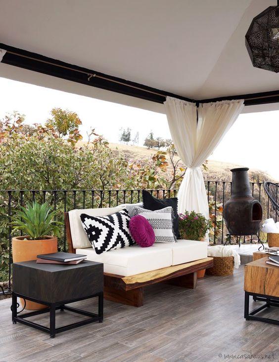 Balcones modernos para casas