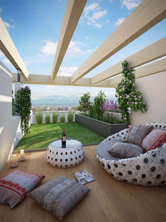 Balcones modernos casas 7 decoracion de interiores - Balcones interiores casa habitacion ...