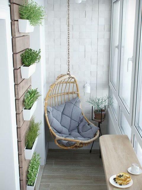 Balcones modernos minimalistas
