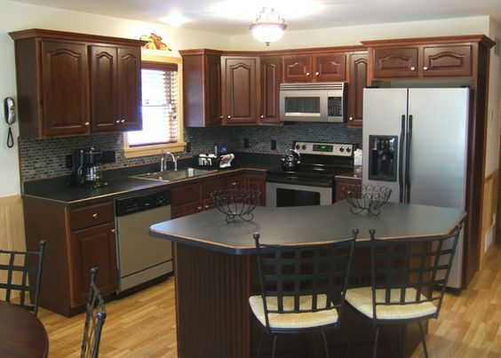 Cocinas color chocolate 15 decoracion de interiores - Cocinas candy ...