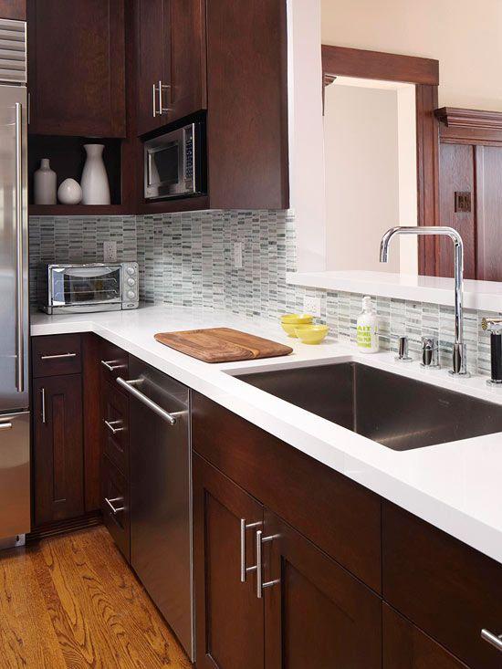 Cocinas color chocolate 20 decoracion de interiores for Modelos de cocinas para casas