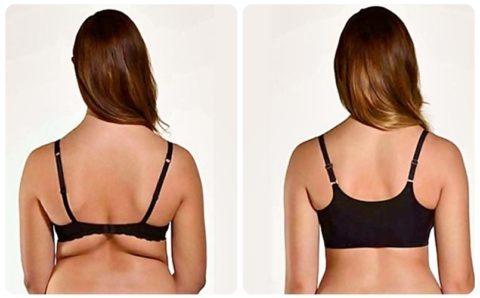 Consejos para eliminar los gorditos de la espalda