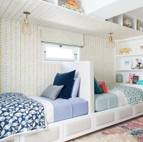 Cuartos compartidos nino nina 24 for Ideas para decorar habitacion compartida nino nina