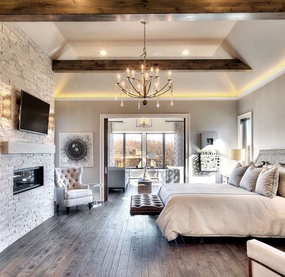 25 Stunning Bedroom Lighting Ideas: Como Decorar Habitaciones Grandes