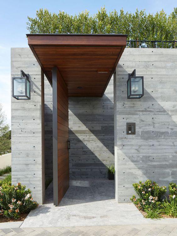 Disenos bardas cemento casa 16 como organizar la casa Disenos de casas contemporaneas pequenas