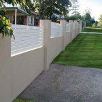 Diseños de bardas de cemento para tu casa