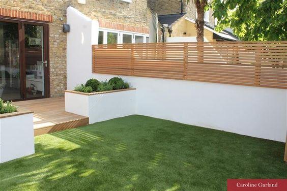 Dise os de bardas de cemento para tu casa decoracion de for Disenos de patios pequenos modernos