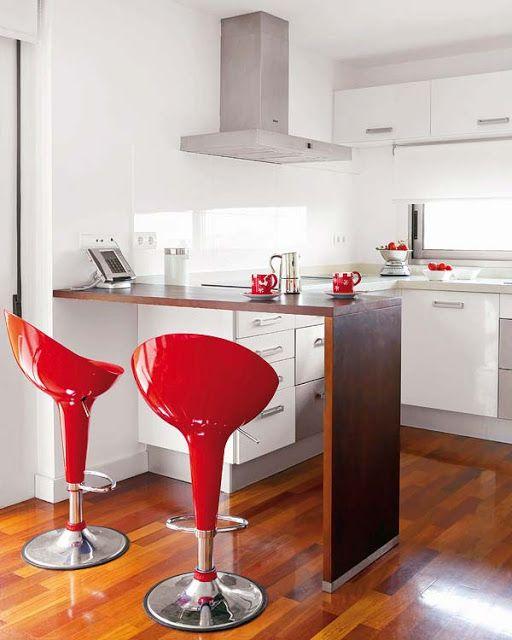 Disenos Cocinas Pequenas Barra 11 Decoracion De