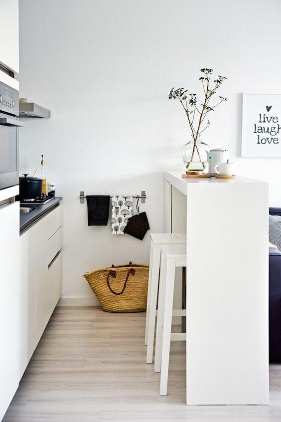 Disenos cocinas pequenas barra 14 como organizar la for Disenos de cocinas pequenas con barra
