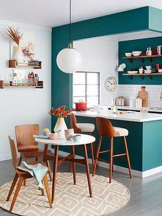 disenos-cocinas-pequenas-barra (25) | Decoracion de interiores ...