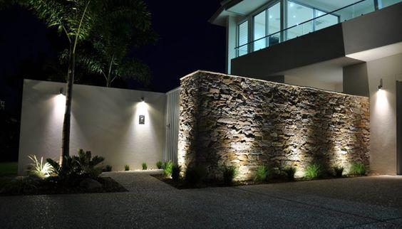 Dise os de revestimiento para paredes interiores y exteriores decoracion de interiores - Revestimientos para paredes exteriores en piedra ...