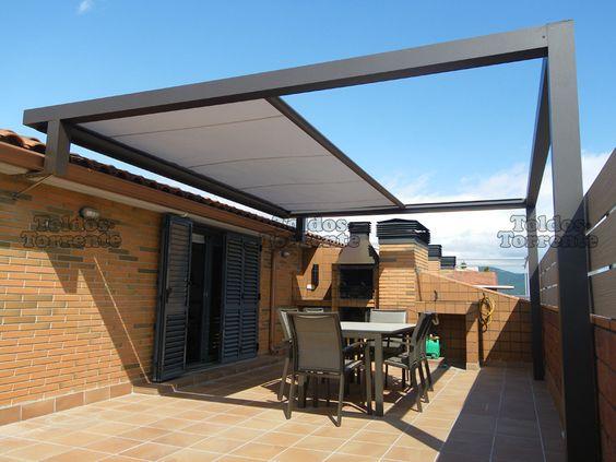 Disenos toldos terrazas 14 decoracion de interiores for Terrazas urbanas diseno