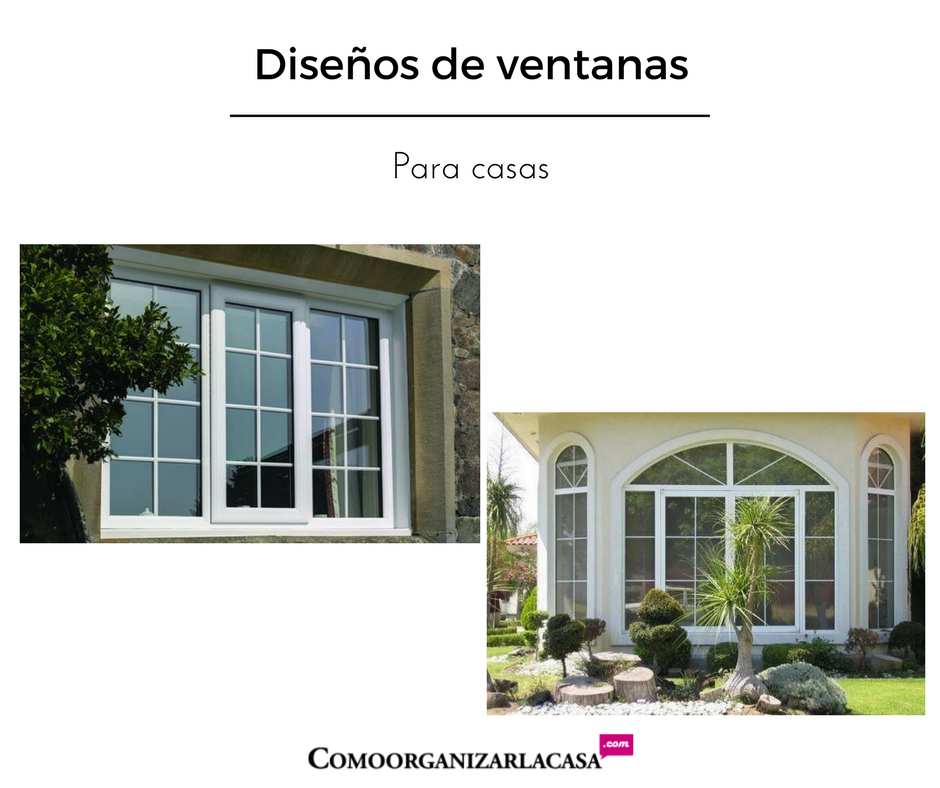 Diseños de ventanas para casas
