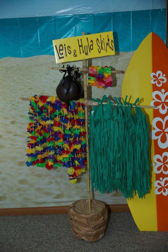 Fiesta hawaiana ideal para este verano