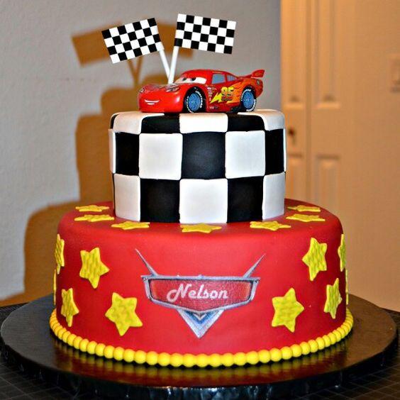 Fiesta infantil temática de Cars 3