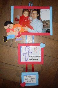 ideas de portaretratos para regalar a papa