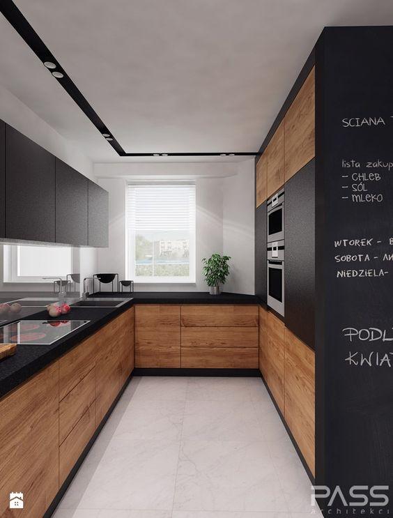 Ideas para decorar cocinas color negro