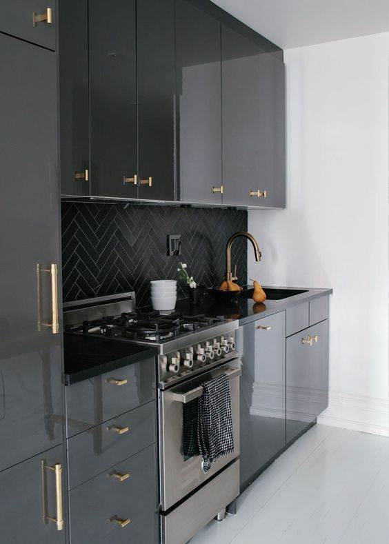 ideas-decorar-cocinas-color-negro (3) | Decoracion de interiores ...
