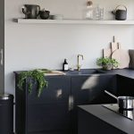 Ideas para decorar cocinas color negro