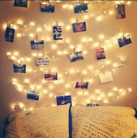 Ideas decorar habitacion luces 19 for Pared de habitacion decorada