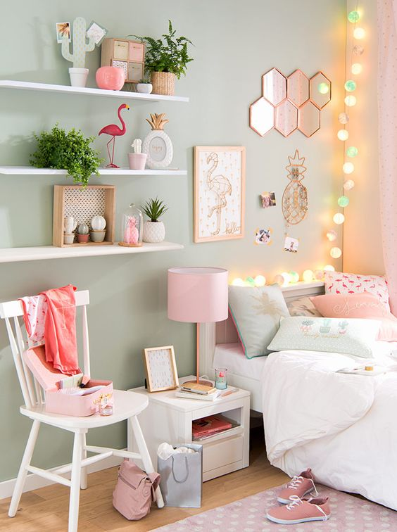 ideas para decorar tu habitacion con luces
